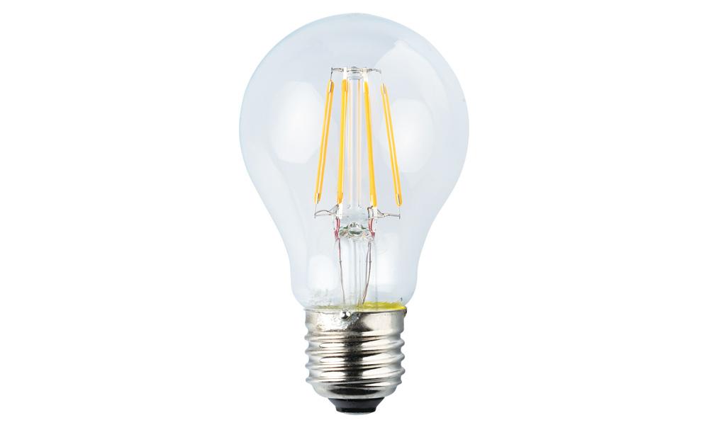 Normallampa klar 2500K E27240V 6W