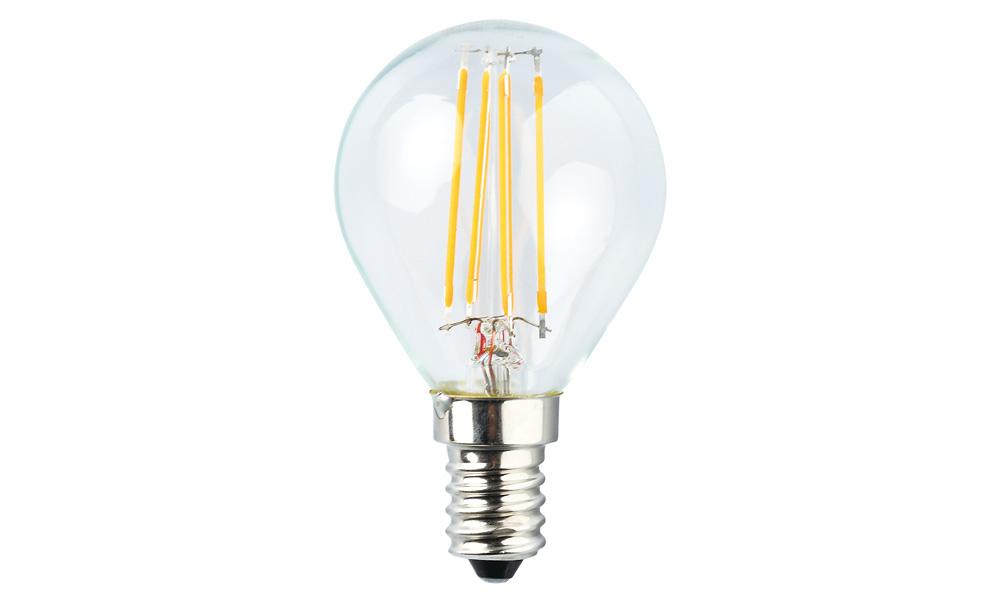 Klotlampa Klar 2500K E14240V 4W