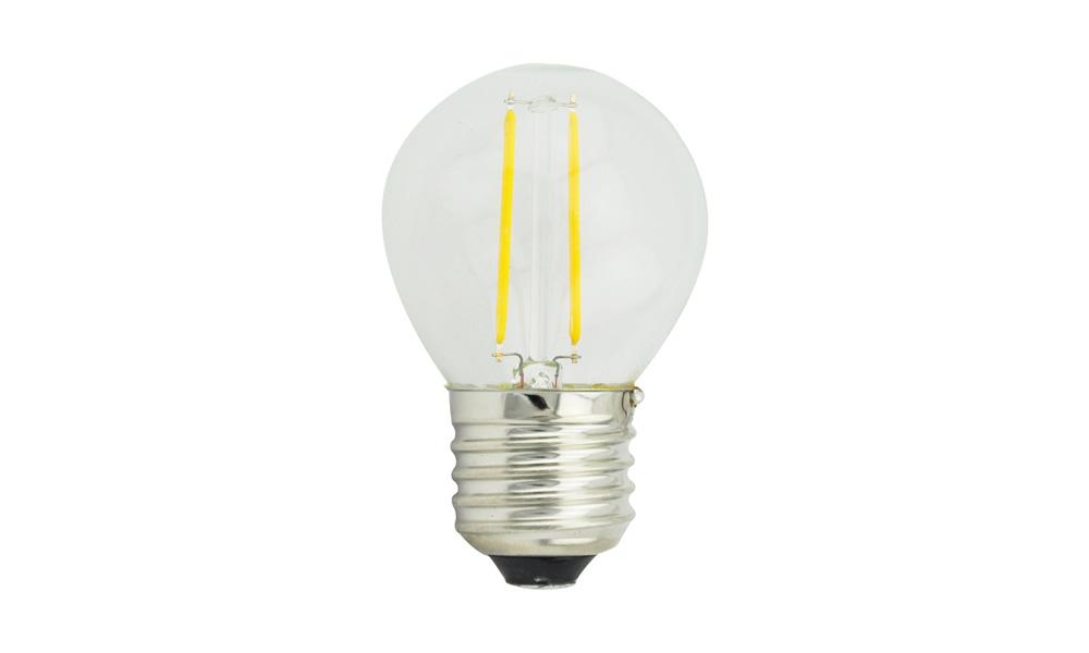 Klotlampa Klar 2500K E27 240V 2W