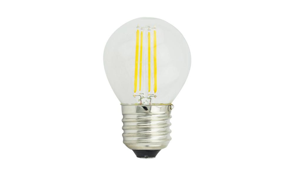 Klotlampa Klar 2500K E27240V 4W