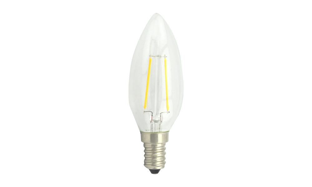 Kronljuslampa klar 2500K E14 240V 2W
