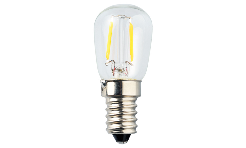 Päronlampa klar 2500K E14 240V 1,2W