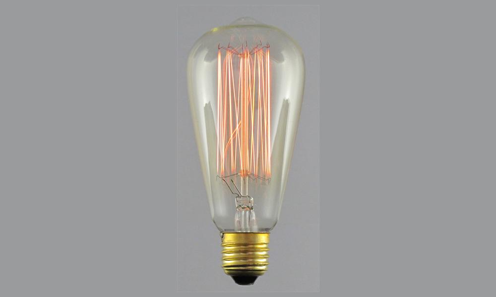 EdisonlampaUp&Down Gold E27 220-240V 22W