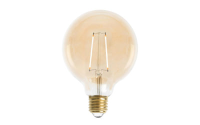 Glob 95mm LED 2L Gold E27 240V 2W