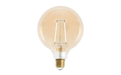 Glob 125mm LED 2L Gold E27 240V 2W