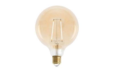 Glob 125mm LED 2L Gold E27240V 2W