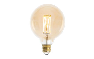 Glob 95mm LED 6L Gold E27 240V 3W