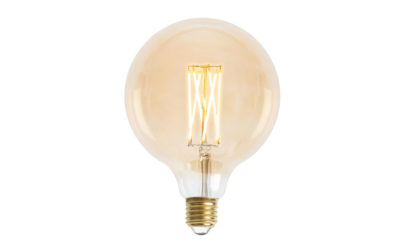 Glob 125mm LED 6L Gold E27 240V 3W