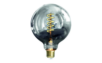 Glob 125 mm LED Spiral Smoke E27240V 3W